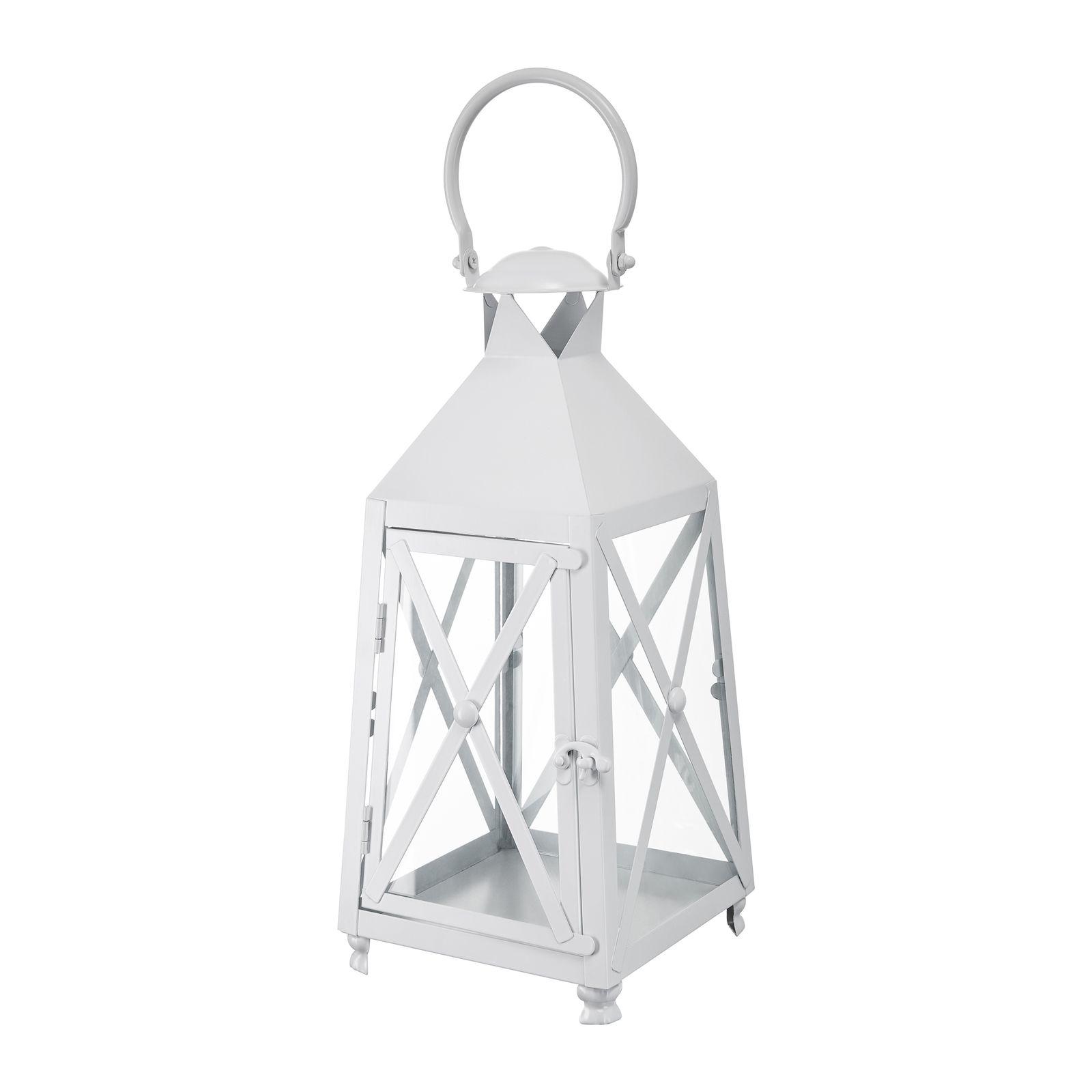 Lanterna White Decor 17,2x17,2x37 cm MY HOME