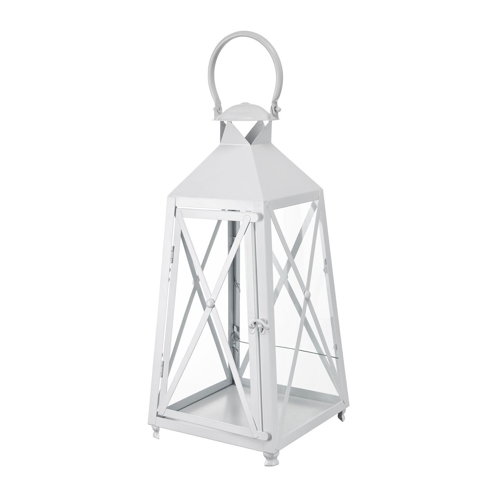 Lanterna White Decor 22,8 x 22,8 x 50 cm MY HOME