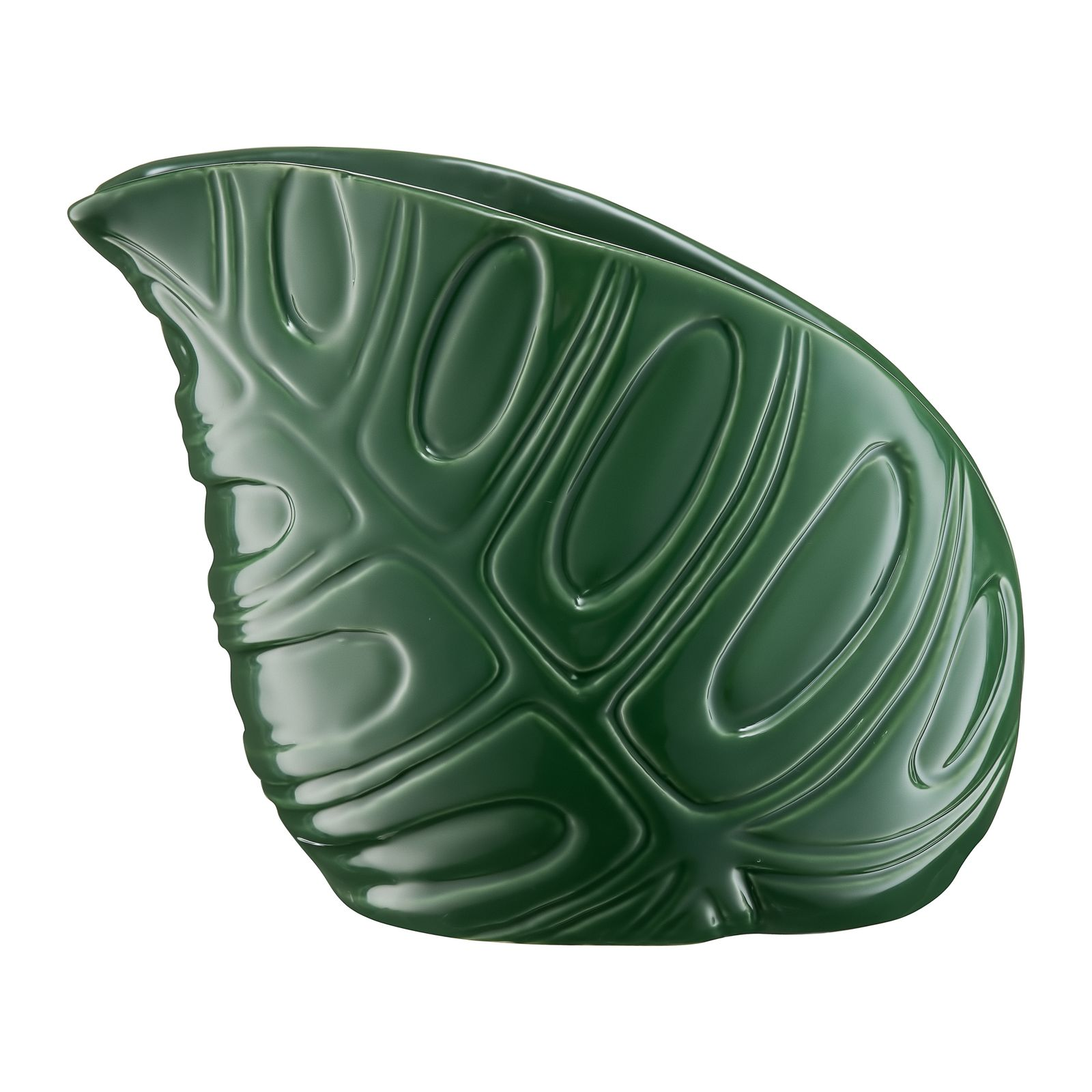 Vaso decorativo Leaf 12,5 x 8,5 x 11,5 cm MY HOME