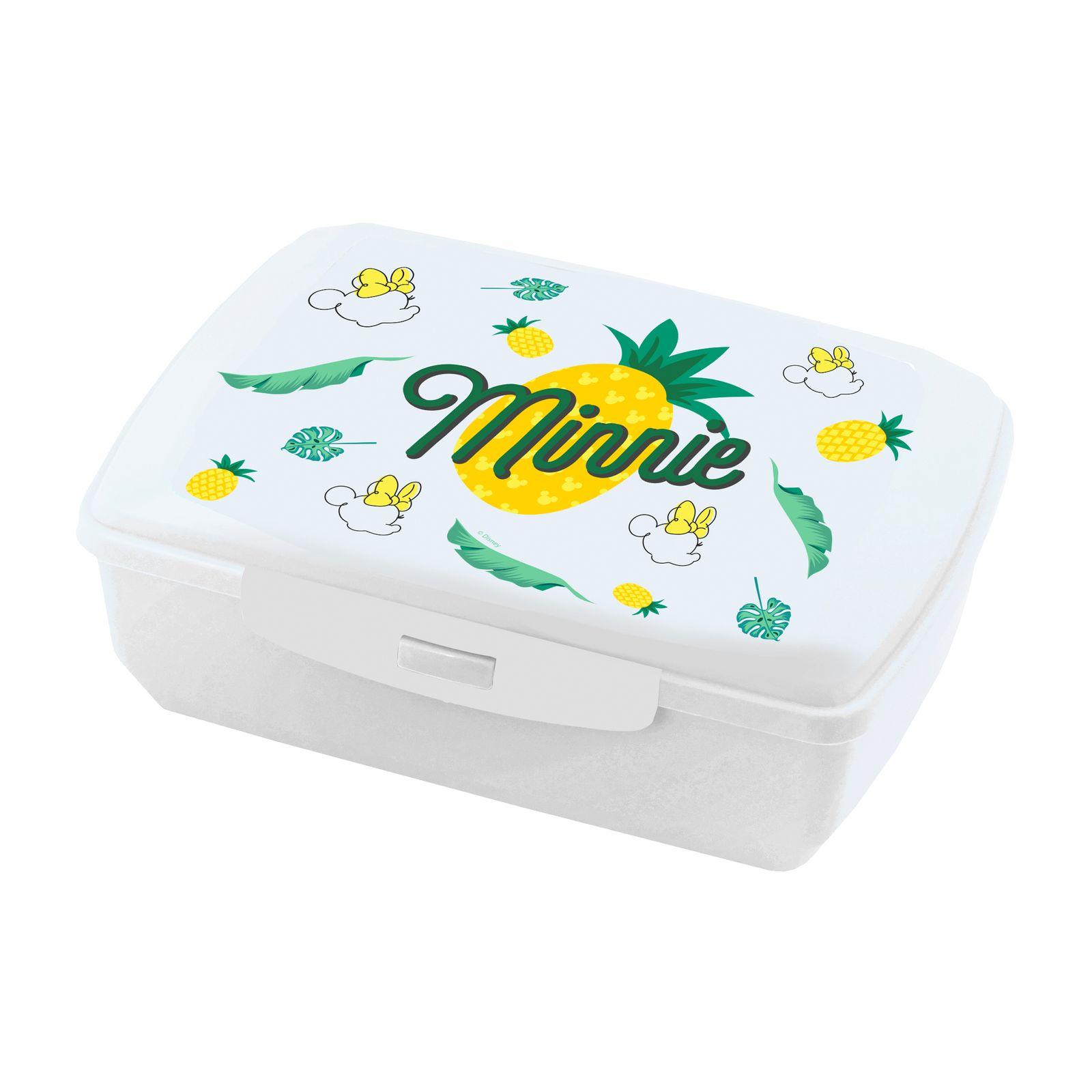 Boîte à goûter Minnie Pineapple 20 x 13 cm DISNEY / AMBITION