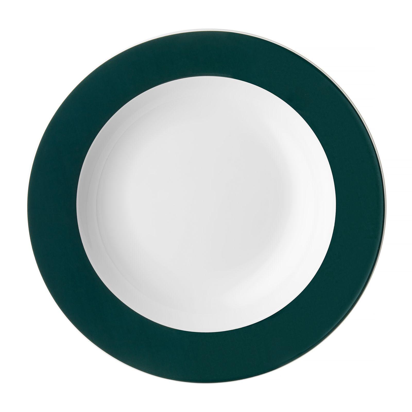 Serwis obiadowy Aura Green 18-elementowy AMBITION