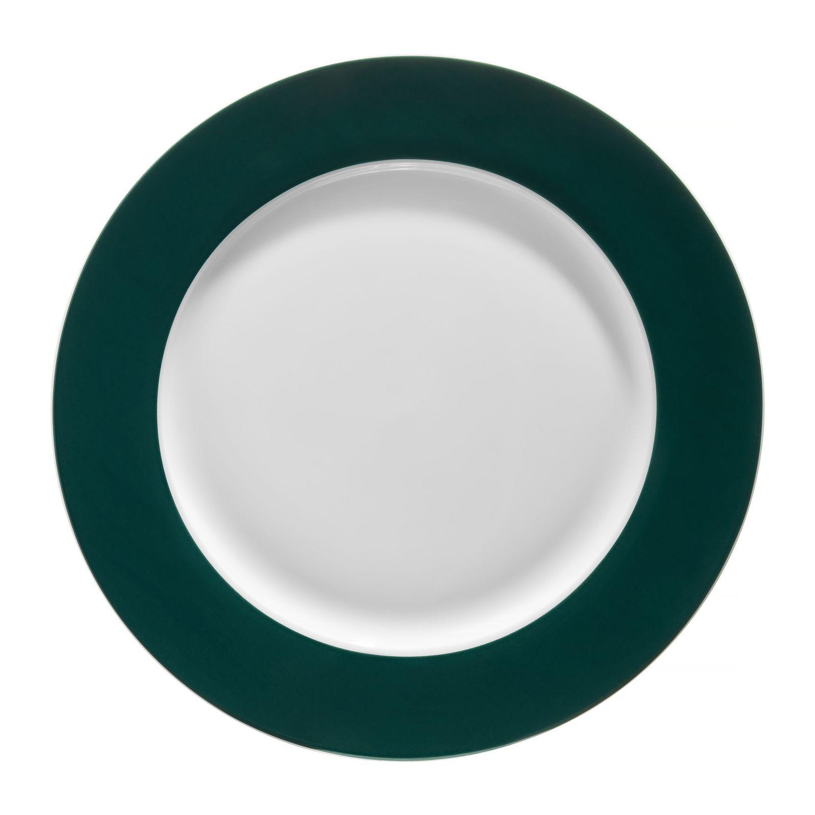 Talerz obiadowy Aura Green 27 cm AMBITION