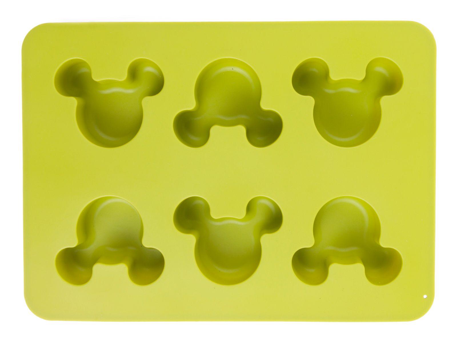 Forma silikonowa muffinki Mickey zielona DISNEY