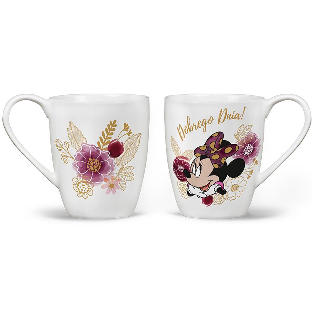 Porcelain mug Minnie Flowers White 400 ml DISNEY