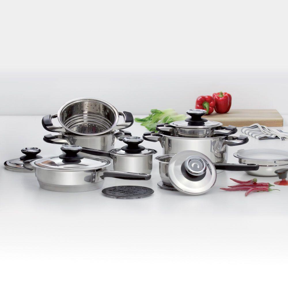 Batterie de cuisine Maison 18-pièces AMBITION