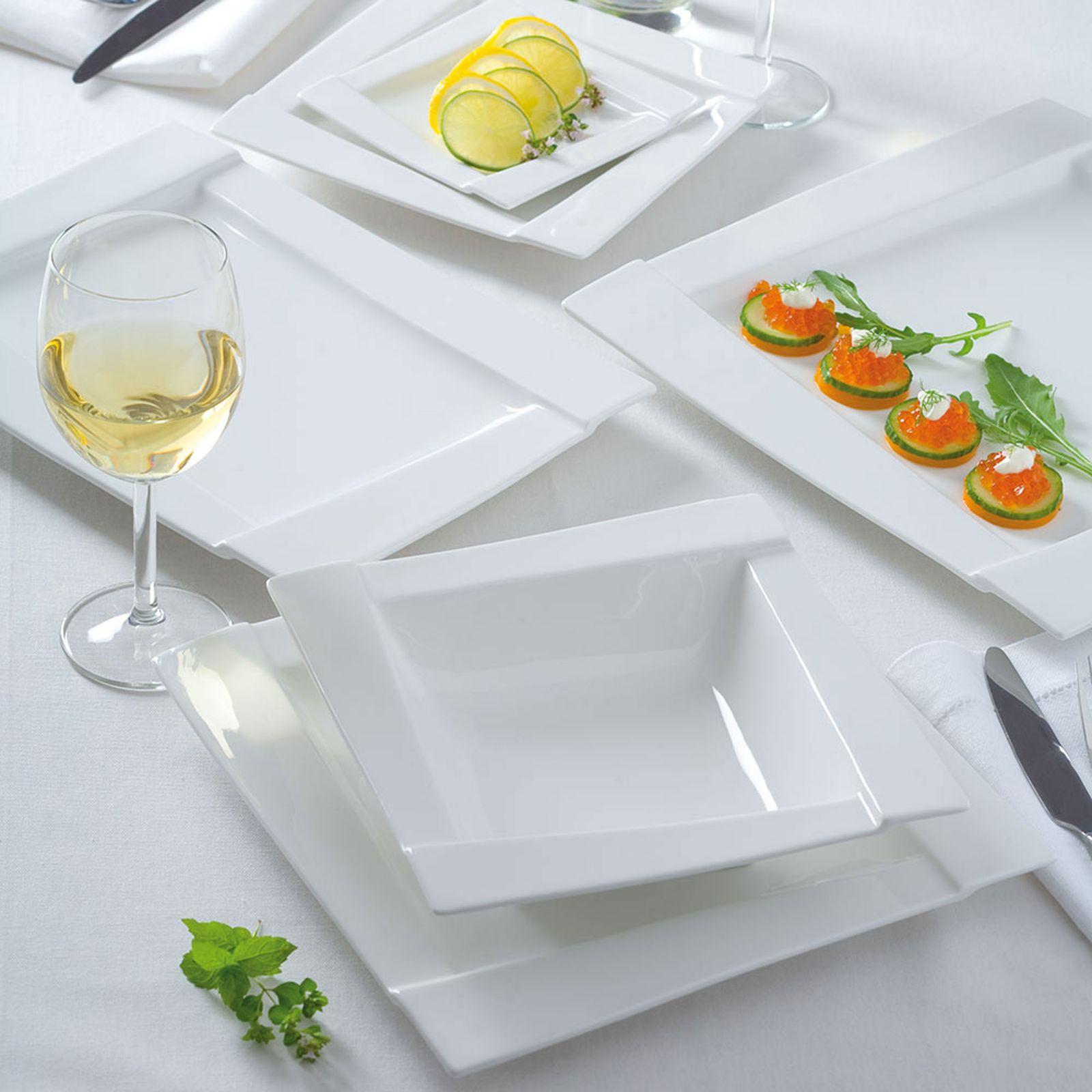 Komplet obiadowy Kubiko 52-elementowy AMBITION