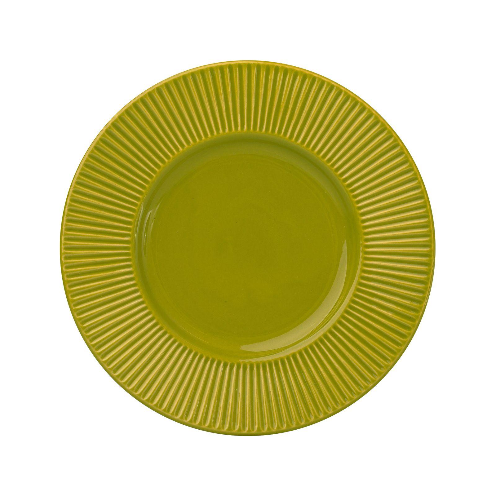 Dessert plate Palette 22.5 cm AMBITION Lime green