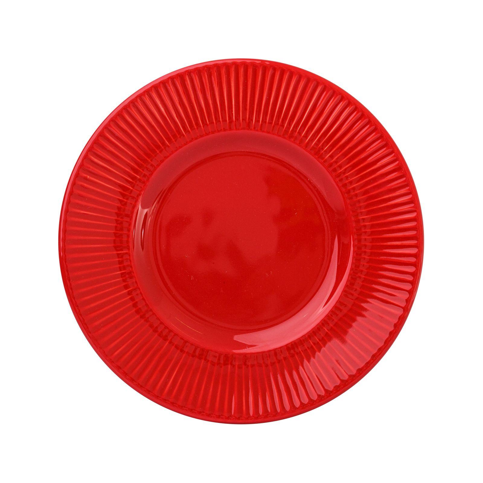 Dessert plate Palette 22.5 cm AMBITION Vivid red