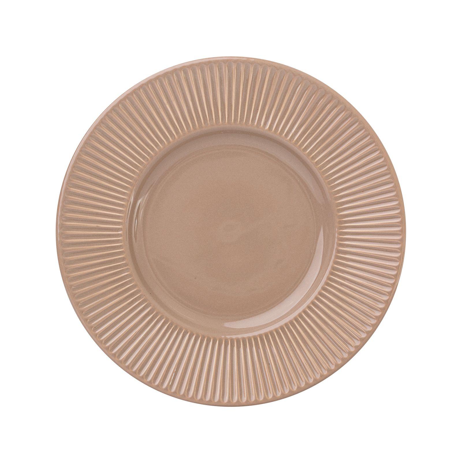 Talerz deserowy Palette Taupe 22,5 cm AMBITION