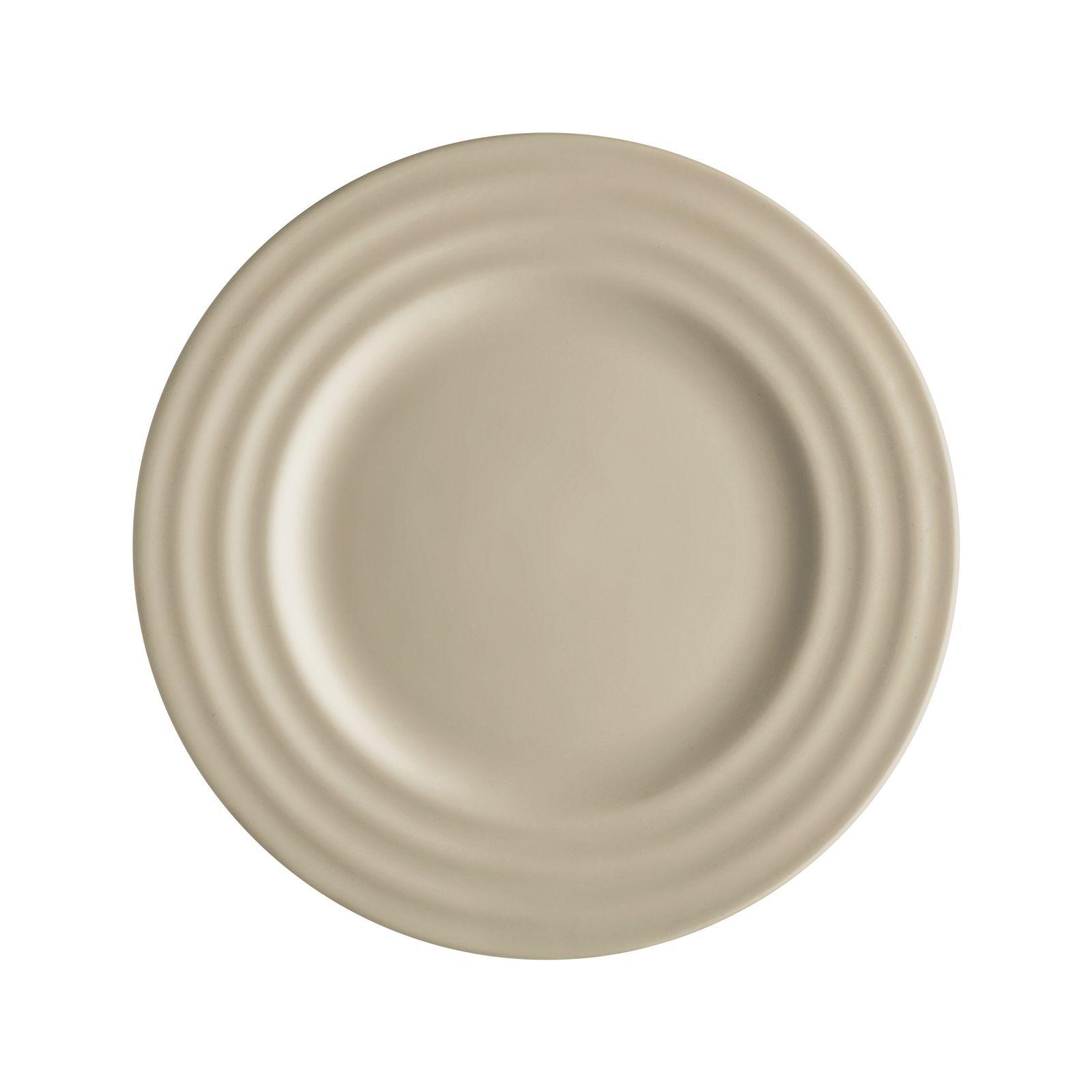 Assiette à dessert Wave beige 20 cm AMBITION