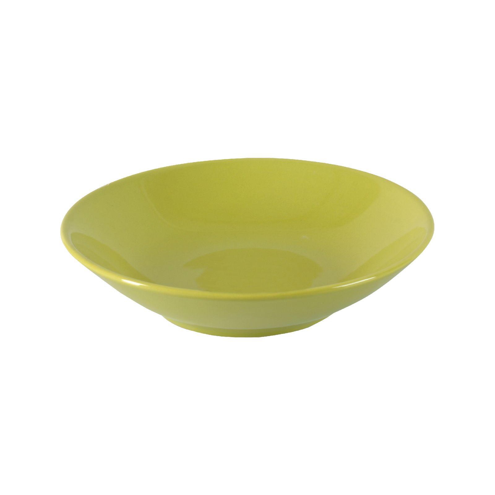 Assiette creuse  Fusion Fresh Green 21 cm AMBITION