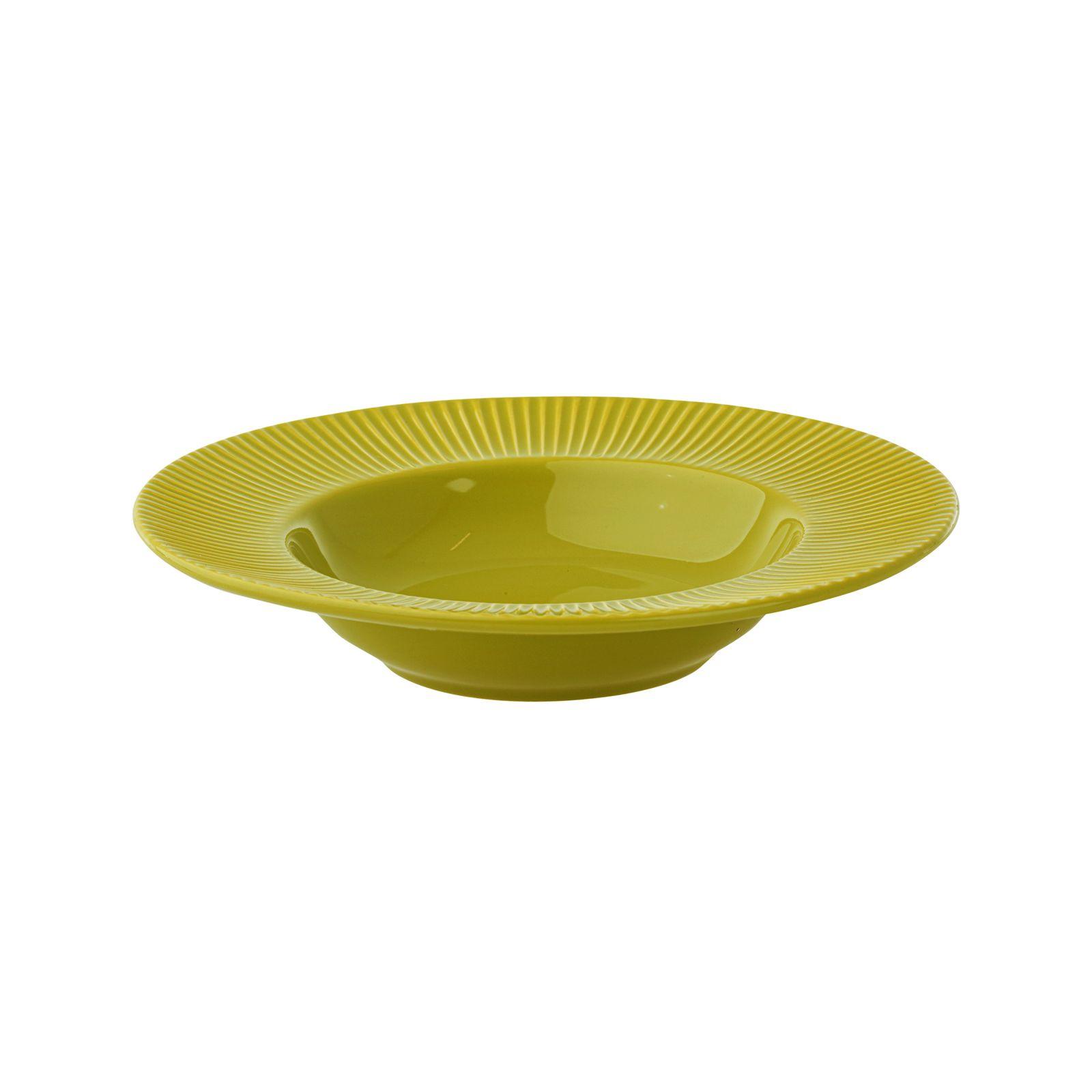 Soup plate Palette 24 cm AMBITION Lime green