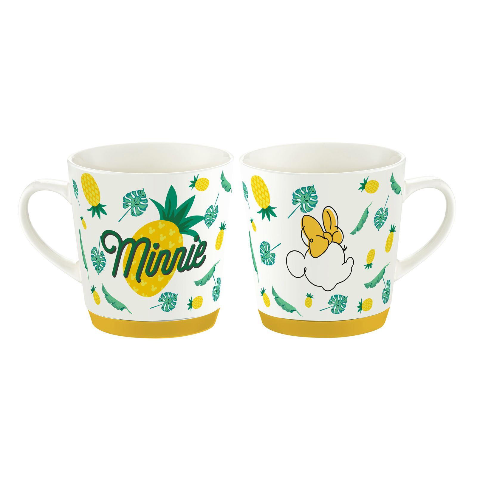 Tasse en porcelaine Minnie Tropical 32 cl Ananas DISNEY / AMBITION