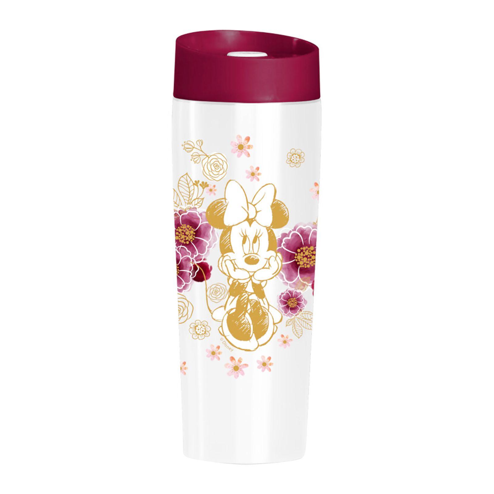 Thermal mug Minnie Flowers Gold 400 ml DISNEY
