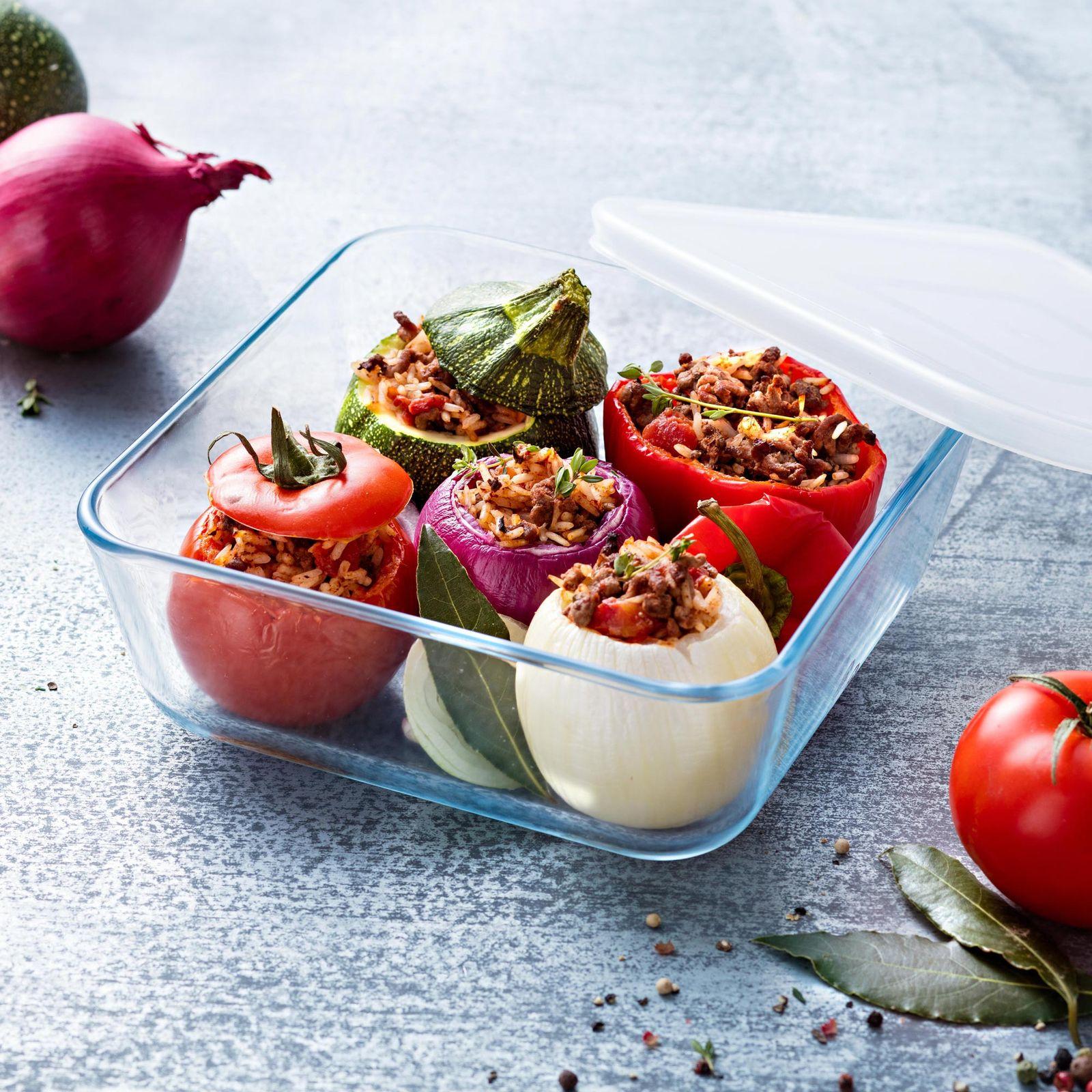 Pojemnik do żywności żaroodporny Cook & Freeze z plastikową pokrywką 0,85 ml PYREX