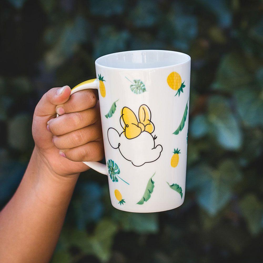 Tasse en porcelaine Minnie Tropical 43 cl Ananas DISNEY / AMBITION