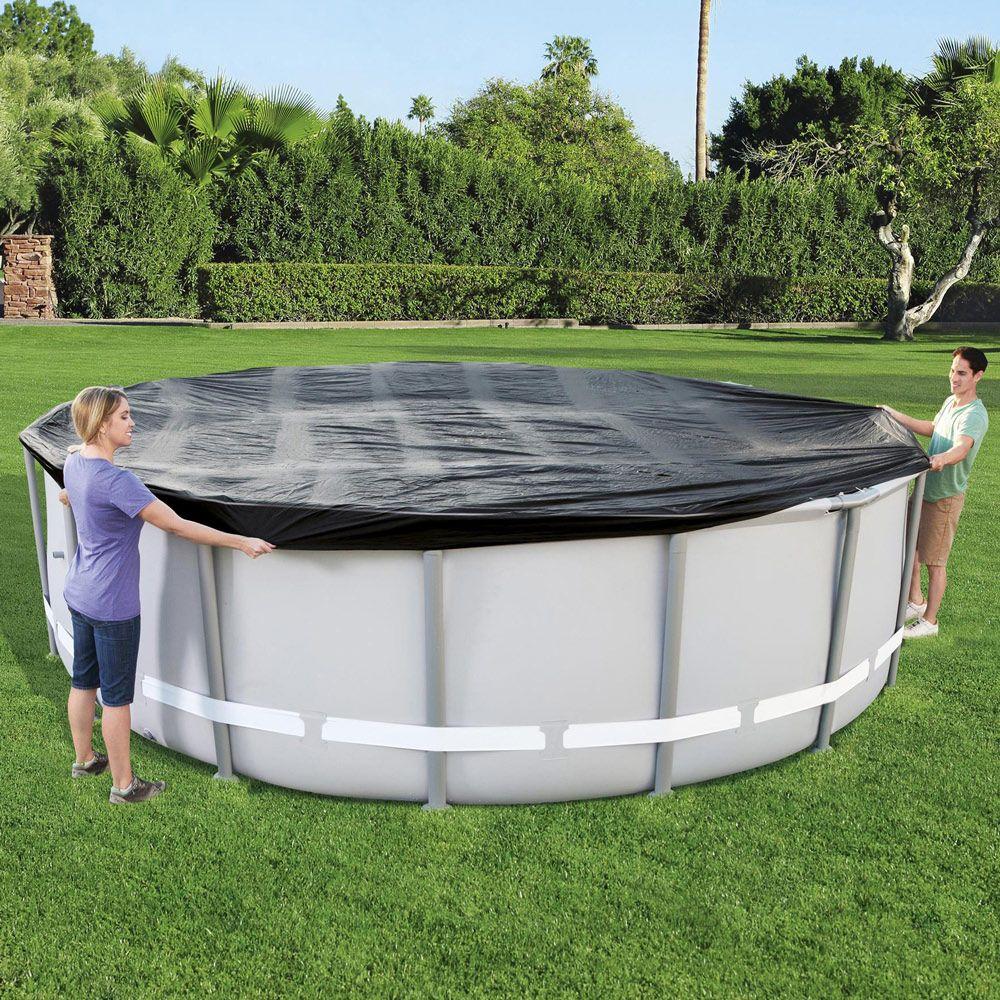 Copertura protettiva per piscina tubolare tonda 488 cm BESTWAY