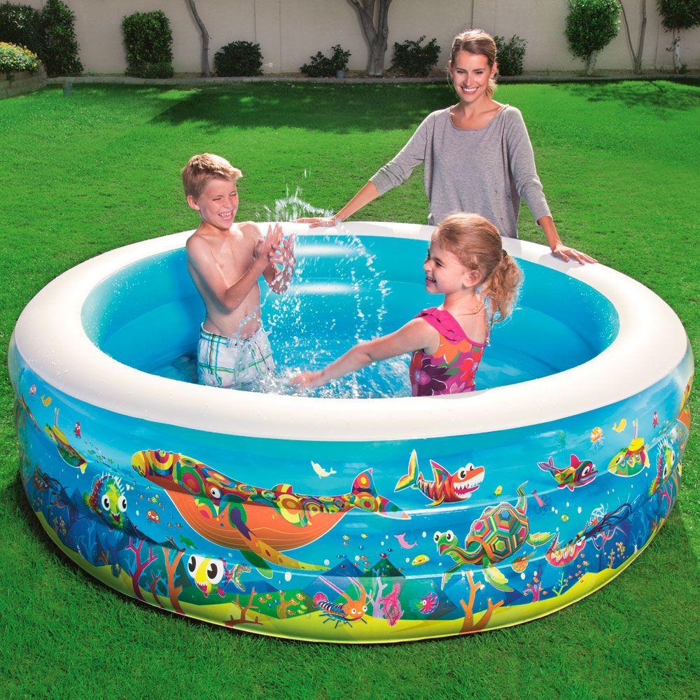 Piscina gonfiabile Family Fun Pool 196 x 53 cm BESTWAY