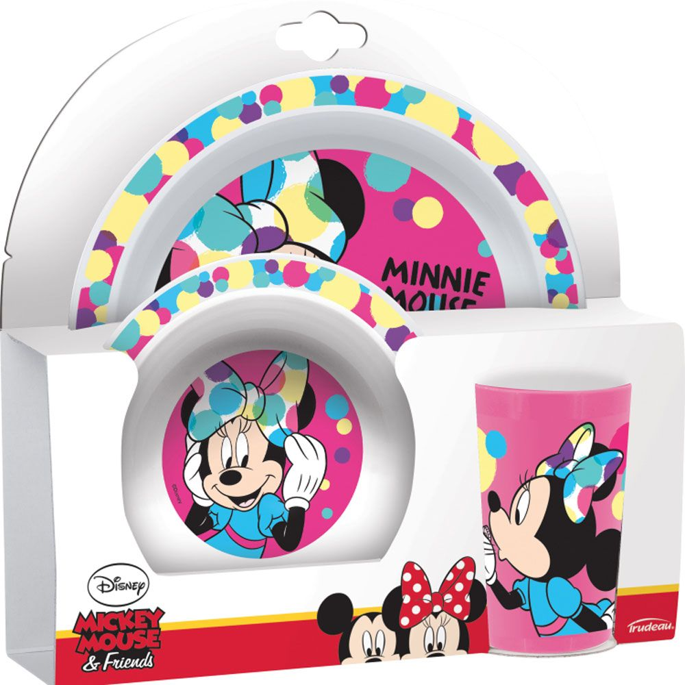 Zestaw Minnie Polly 3-elementowy DISNEY