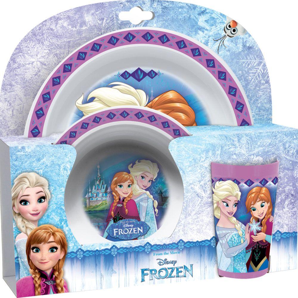 Zestaw Frozen 3-elementowy Polly DISNEY