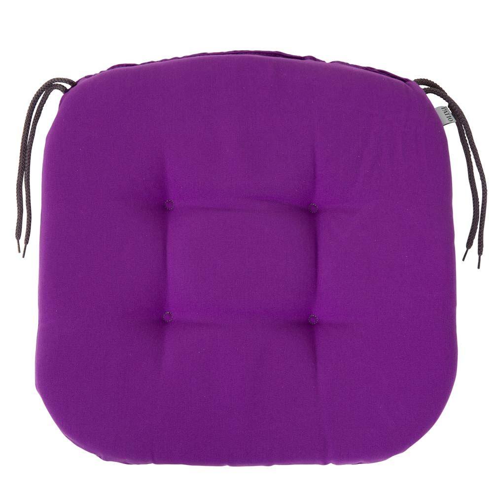 Pernă pentru scaun Lavender Chloe 39 x 40 x 4 cm D042-08DW PATIO