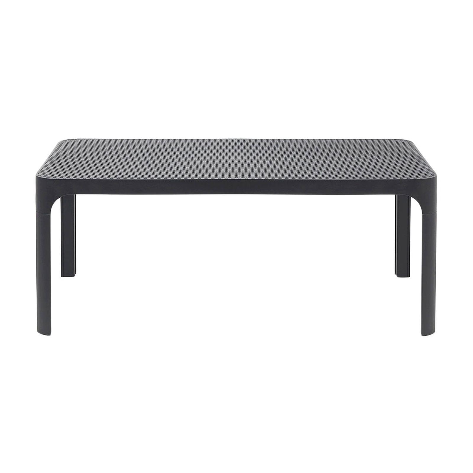 Tavolo da giardino Net antracite 100 x 60 cm NARDI