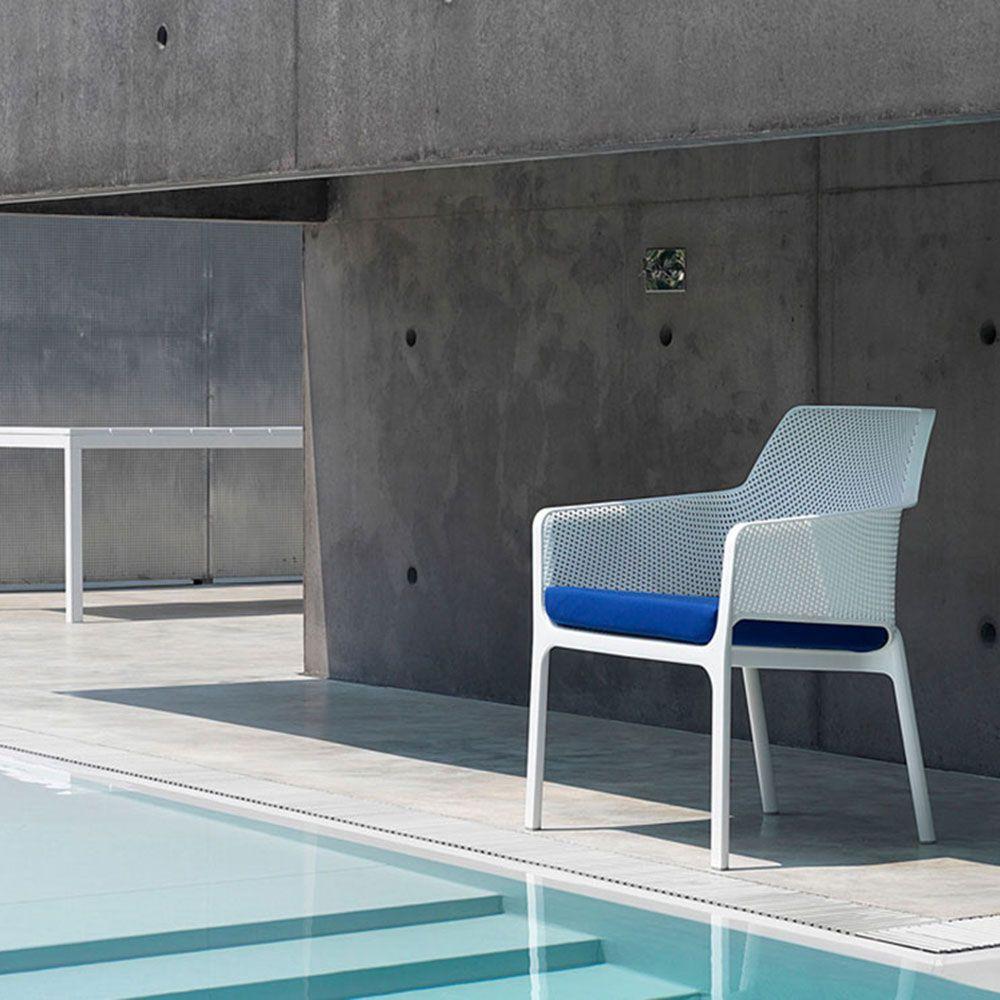 Krzesło ogrodowe Net Bianco NARDI