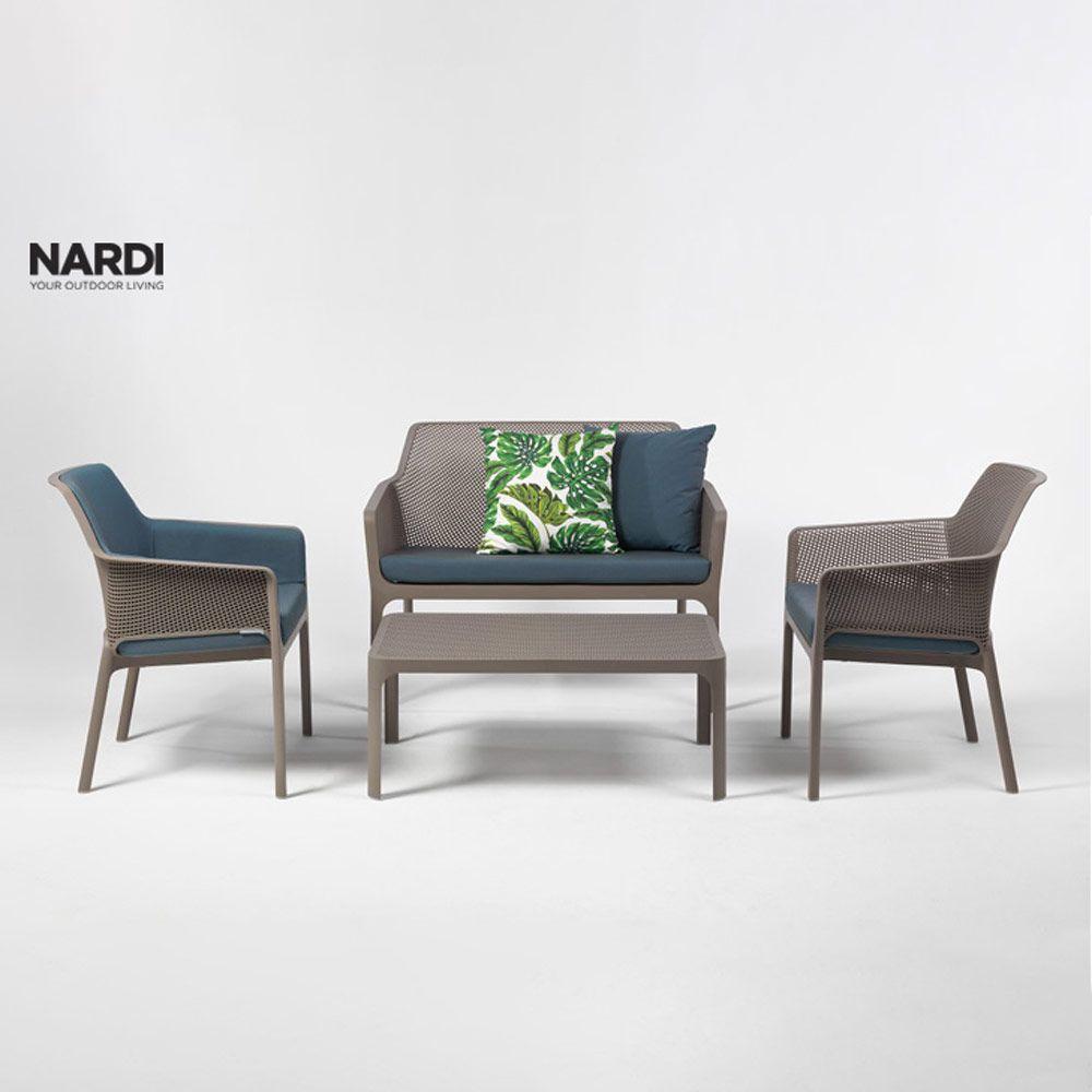 Masă de grădină Net Tortora 100 x 60 cm NARDI
