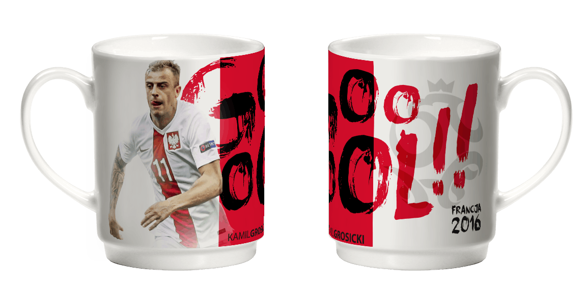 Kubek Gool! Kamil Grosicki 350 ml