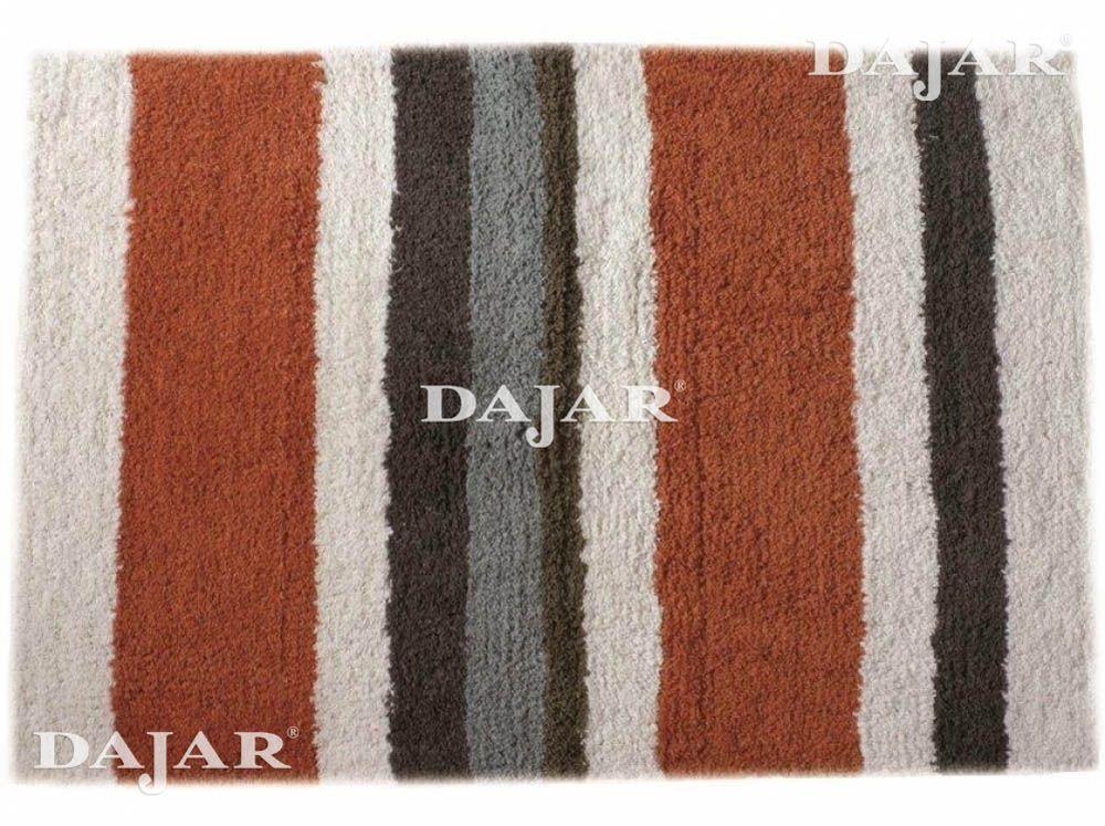 Tappeto universale in cotone Stripe Brown 50 x 70 cm JOTTA