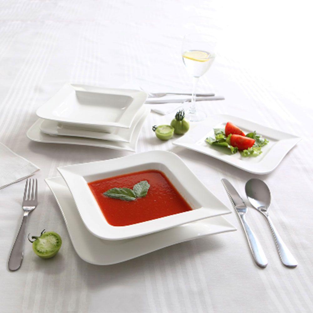 Serwis obiadowo-kawowy 157-elementowy + GRATIS Fala AMBITION