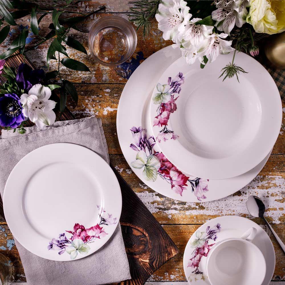 Service de table Garden 144 pièces AMBITION + cadeau