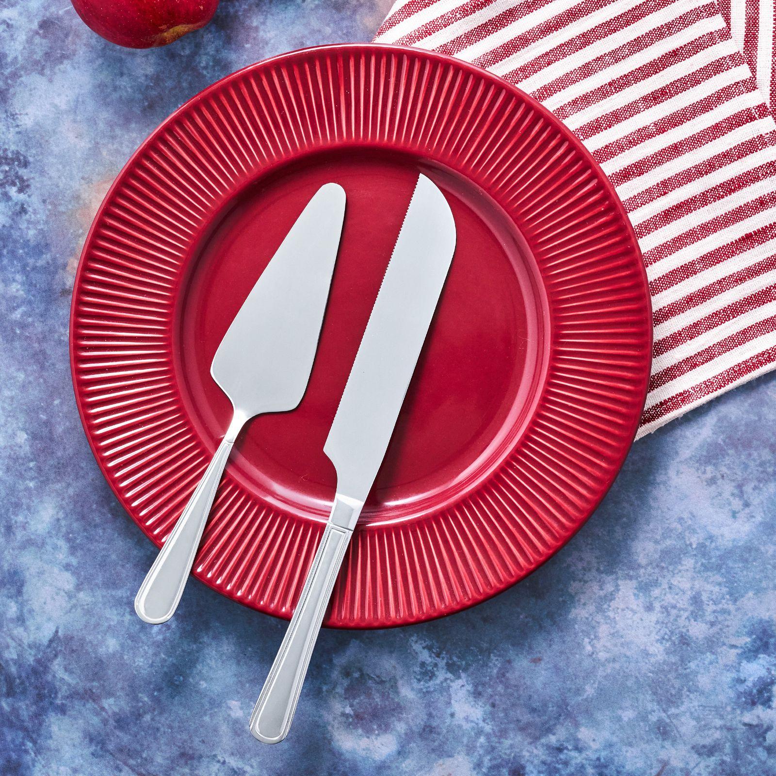 Dessert cutlery set 2-pcs Verona cake lifter + knife AMBITION