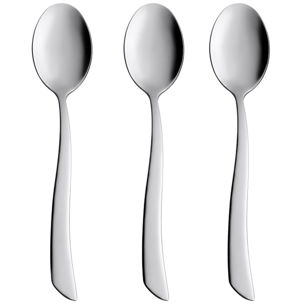Coffee spoon Wave 13,7 cm 3 pcs AMBITION