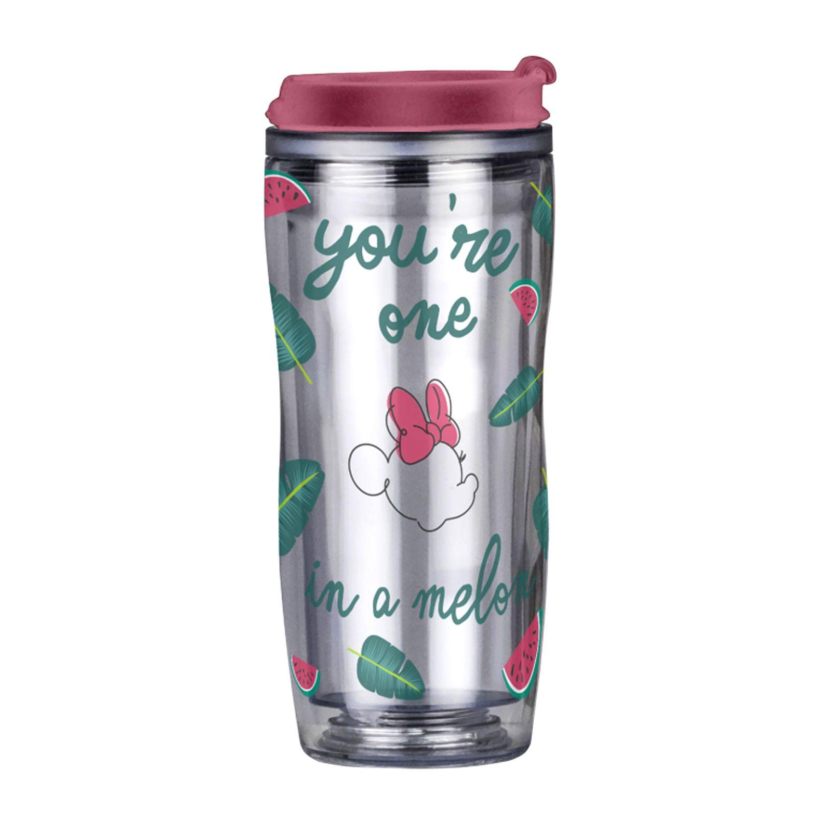 Tasse gourde Minnie Watermelon déco remplaçable 40 cl DISNEY / AMBITION