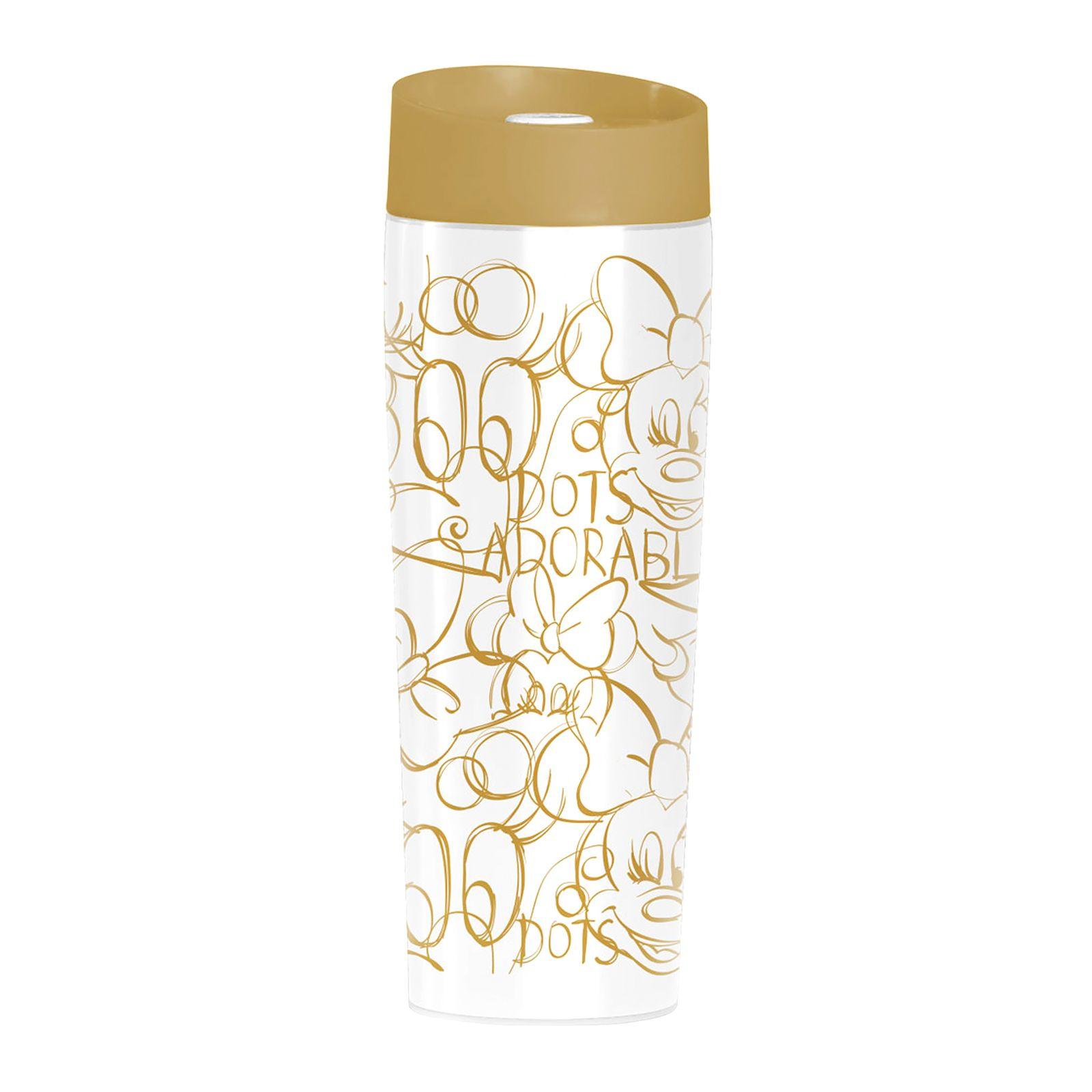 Thermal mug Minnie Gold dots 400 ml DISNEY