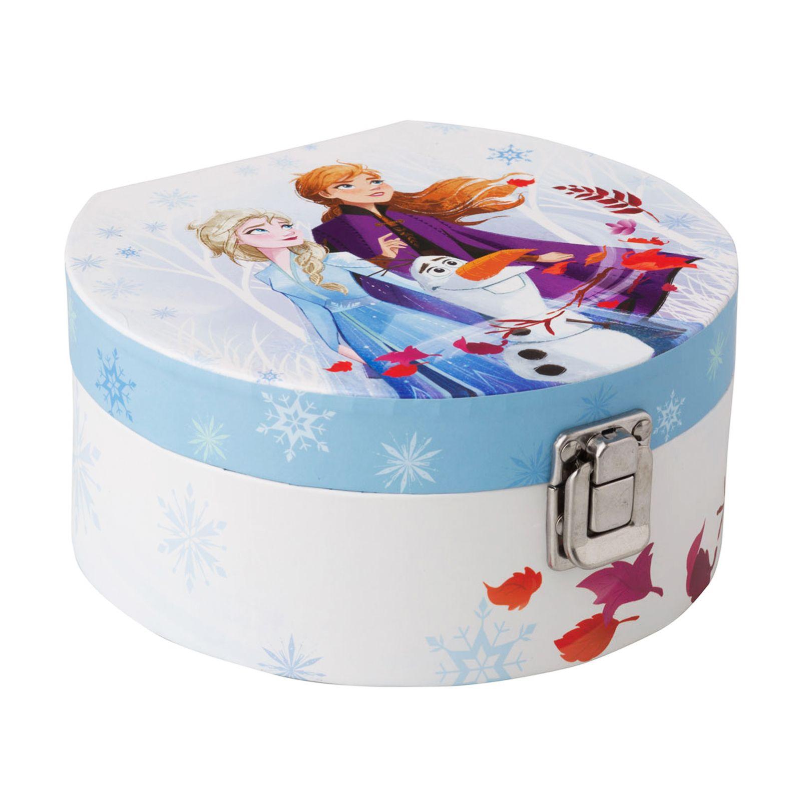 Velká krabička se zrcadlem Frozen II Blue 17 x 15,5 x 8 cm DISNEY