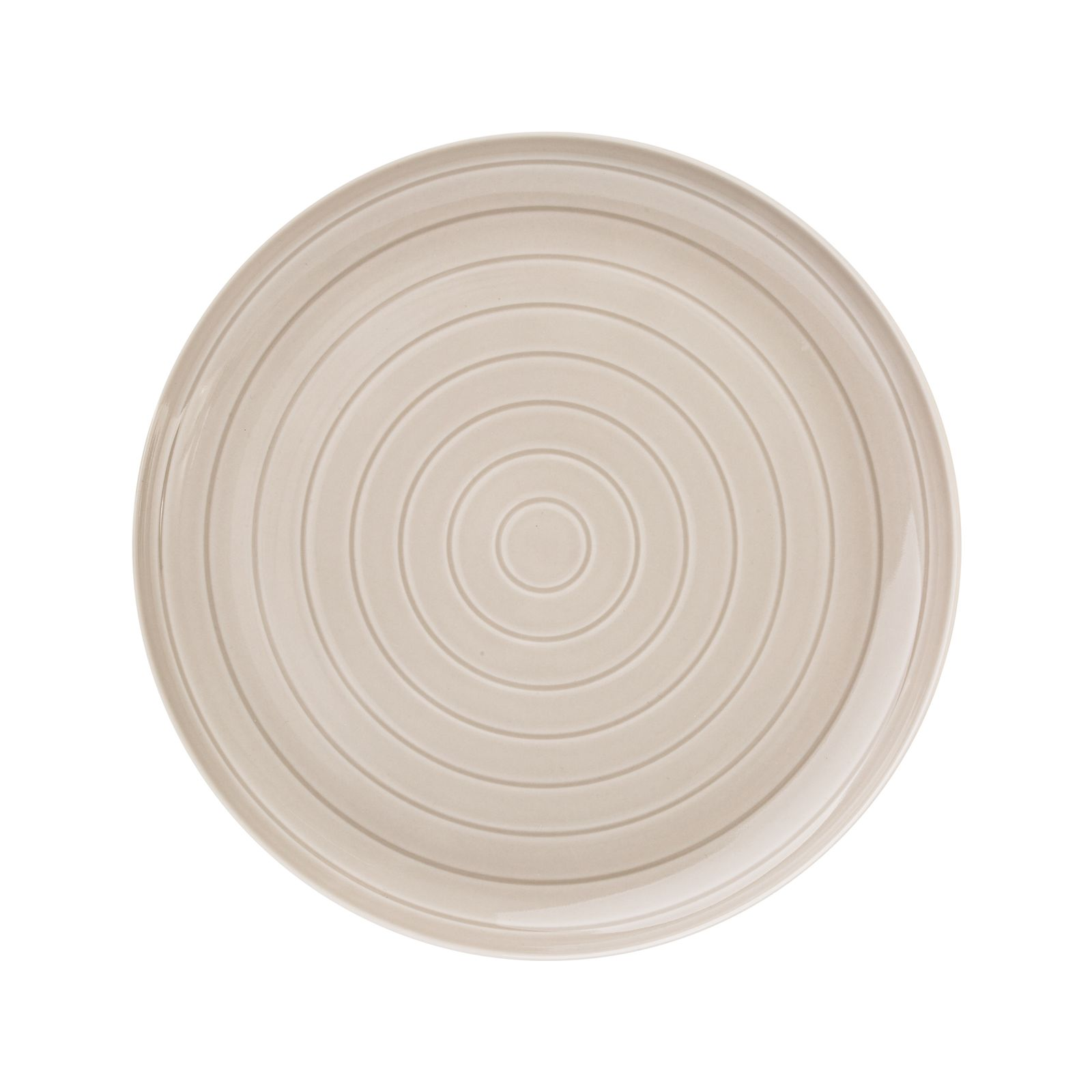 Dinner plate Piano 27 cm gray AMBITION
