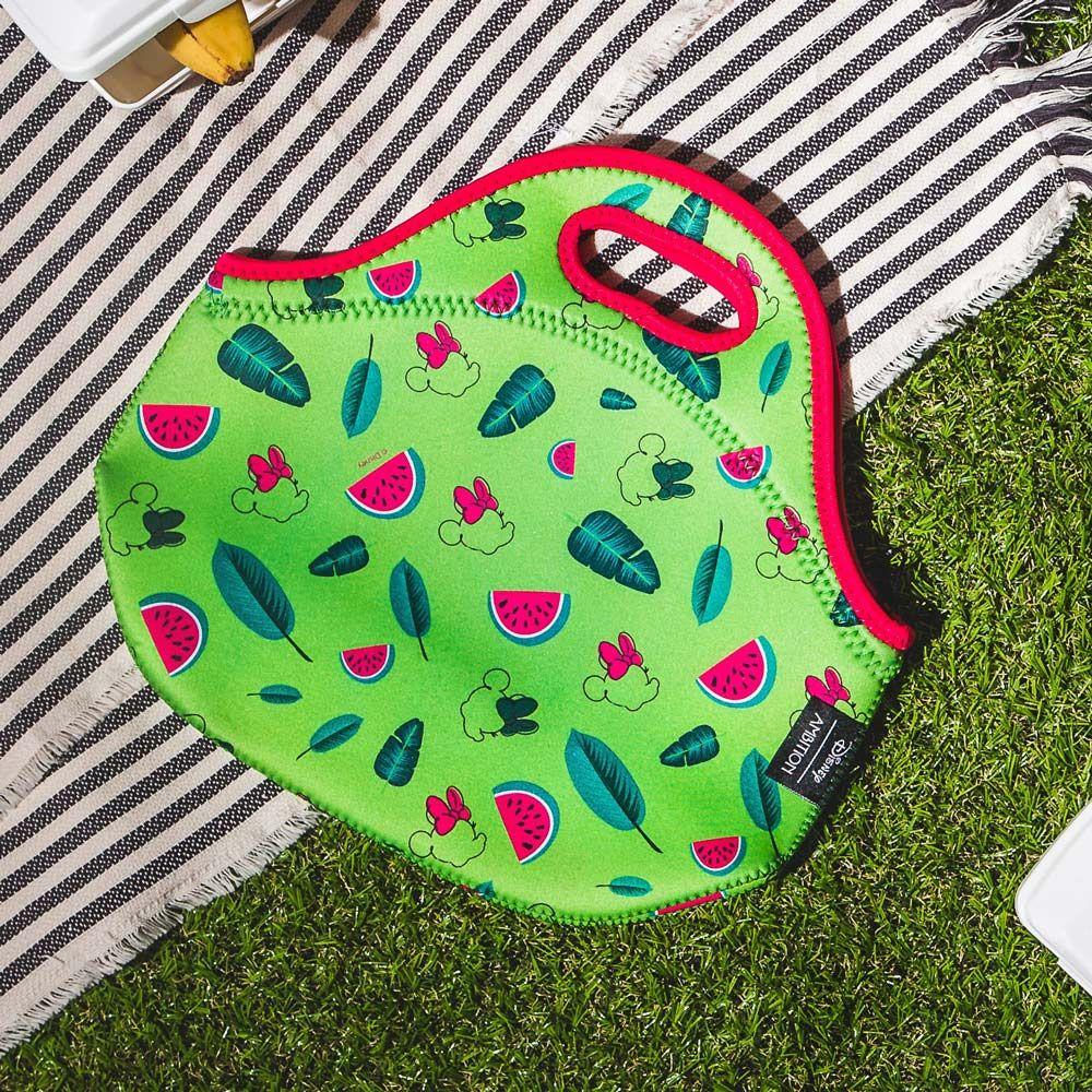 Sac à lunch en néoprène Minnie Watermelon DISNEY / AMBITION