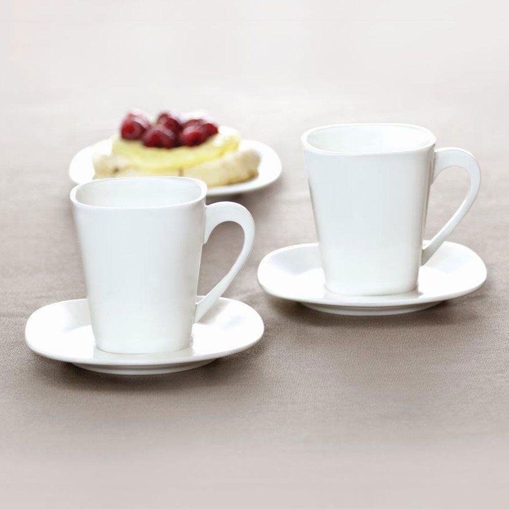 Komplet kawowy Kubiko/Fala 220 ml 12-elementowy AMBITION