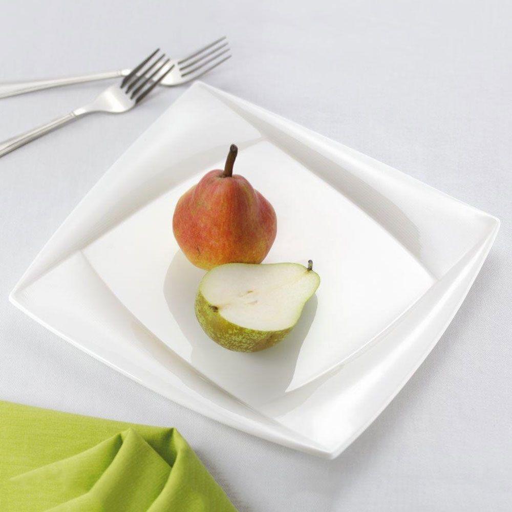 Lot de 2 assiettes plates Diva 25 cm AMBITION