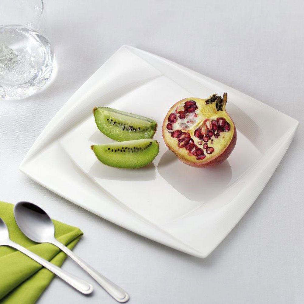 Set of 2 dessert plates Diva 21,5 x 21,5 cm AMBITION
