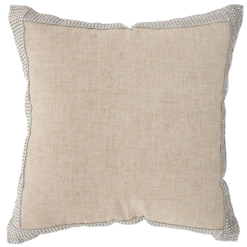 Fodera per cuscino Decor Silver 42 x 42 cm AMBITION