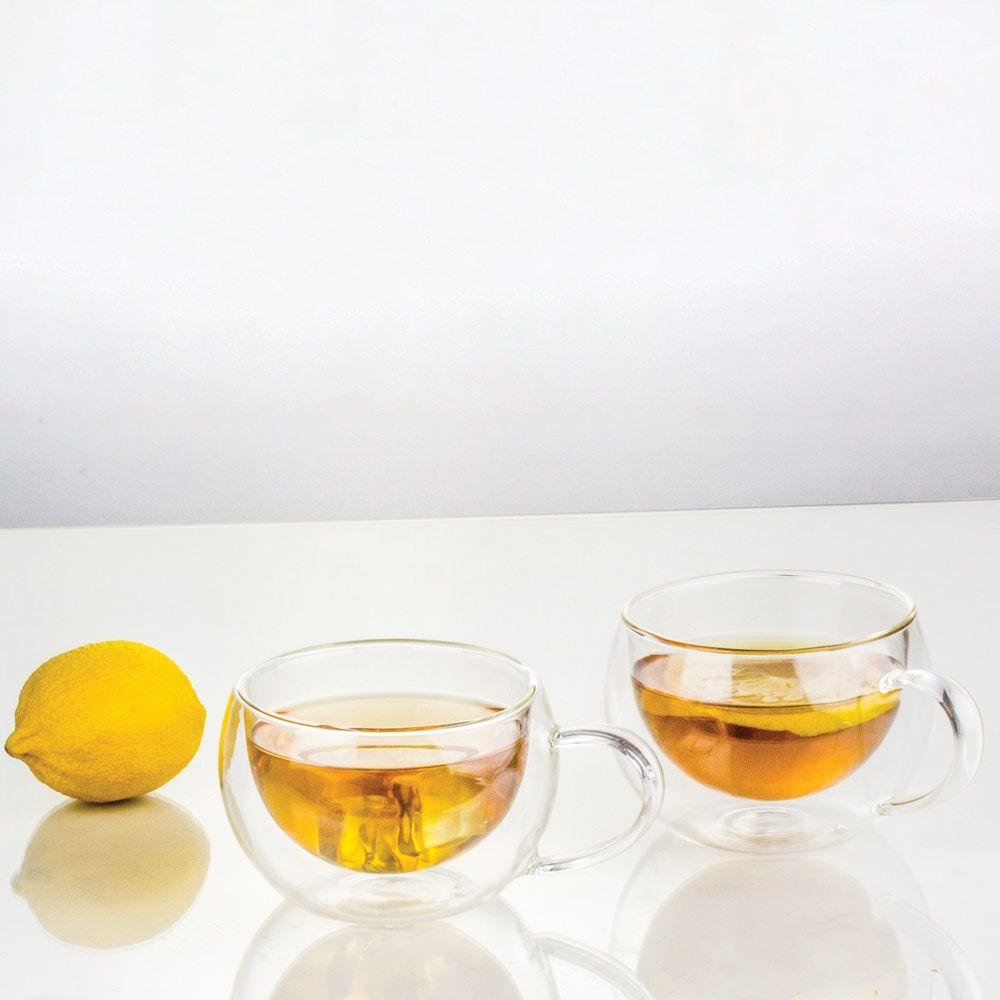 Set of 2 thermic mugs / glasses Mia 300 ml AMBITION