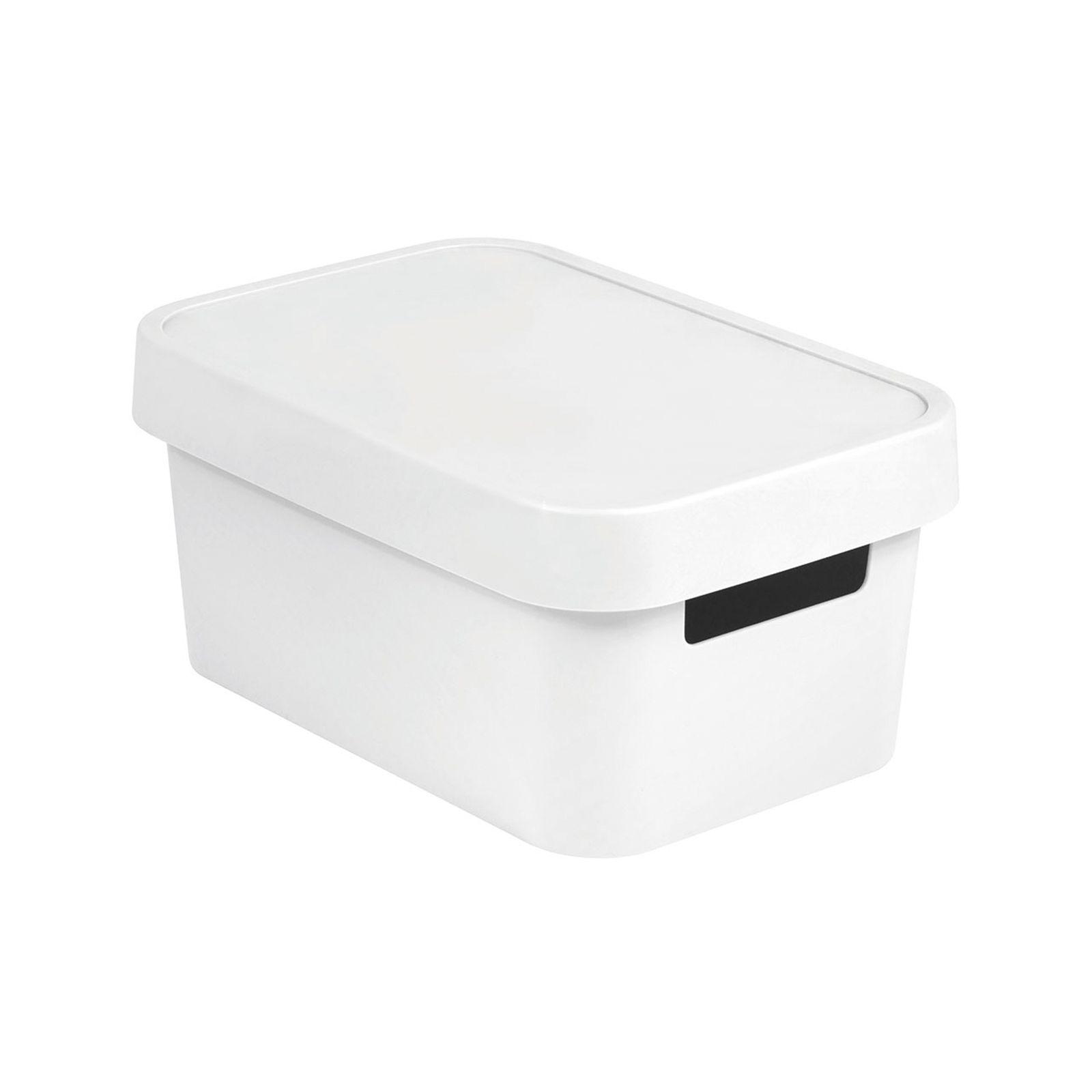 Pojemnik z pokrywą 4,5L Infinity biały CURVER
