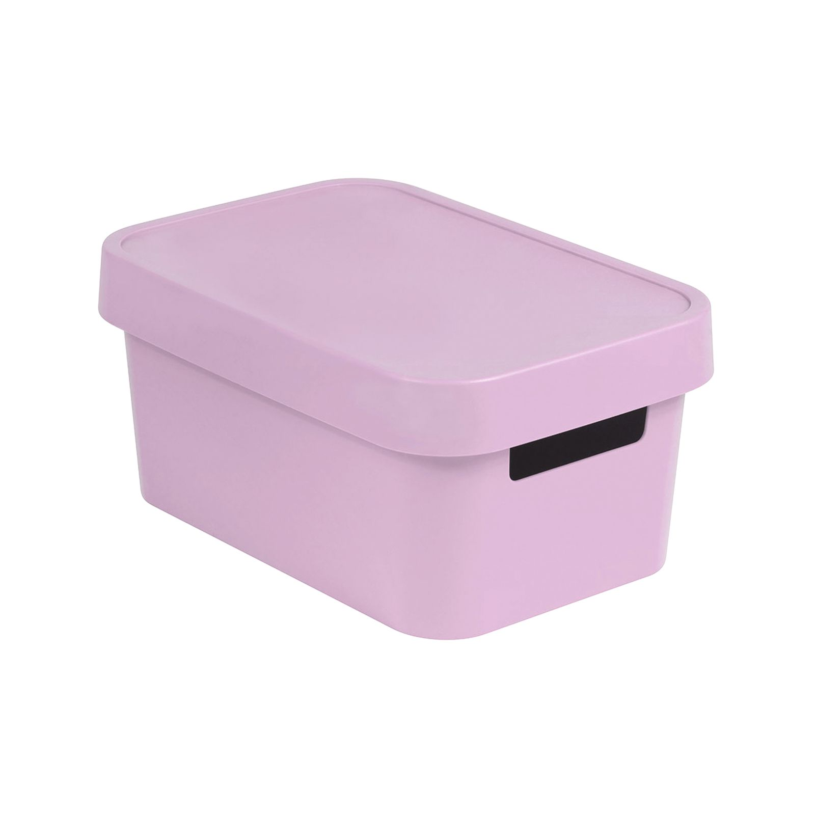 Caja con tapa Infinity rosa 27 x 19 x 12 cm CURVER
