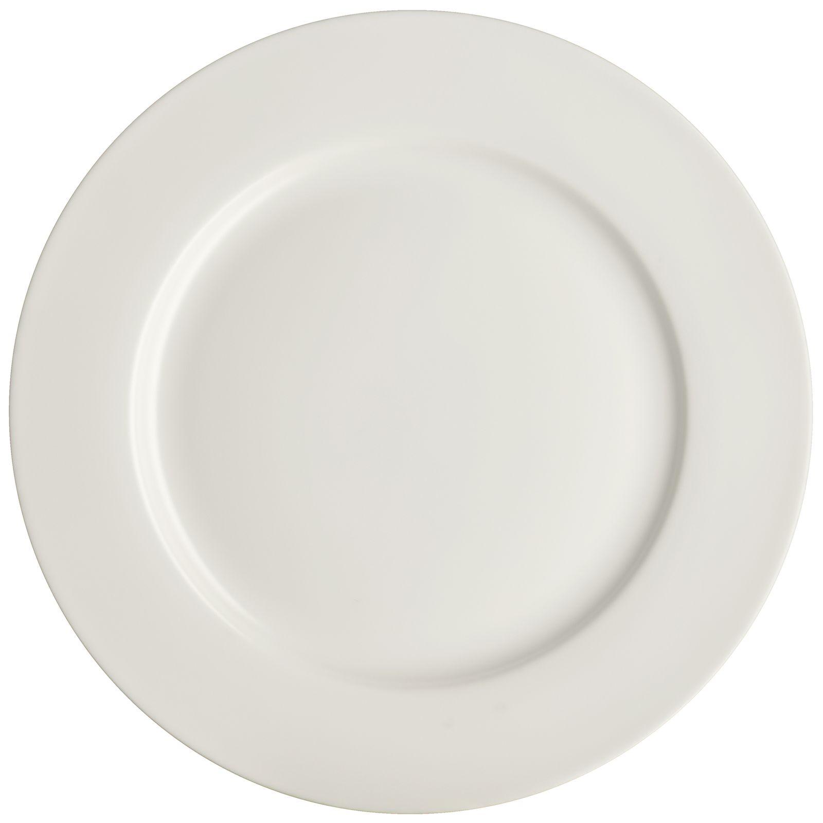 Porcelánový plytký tanier Aura White 27 cm AMBITION