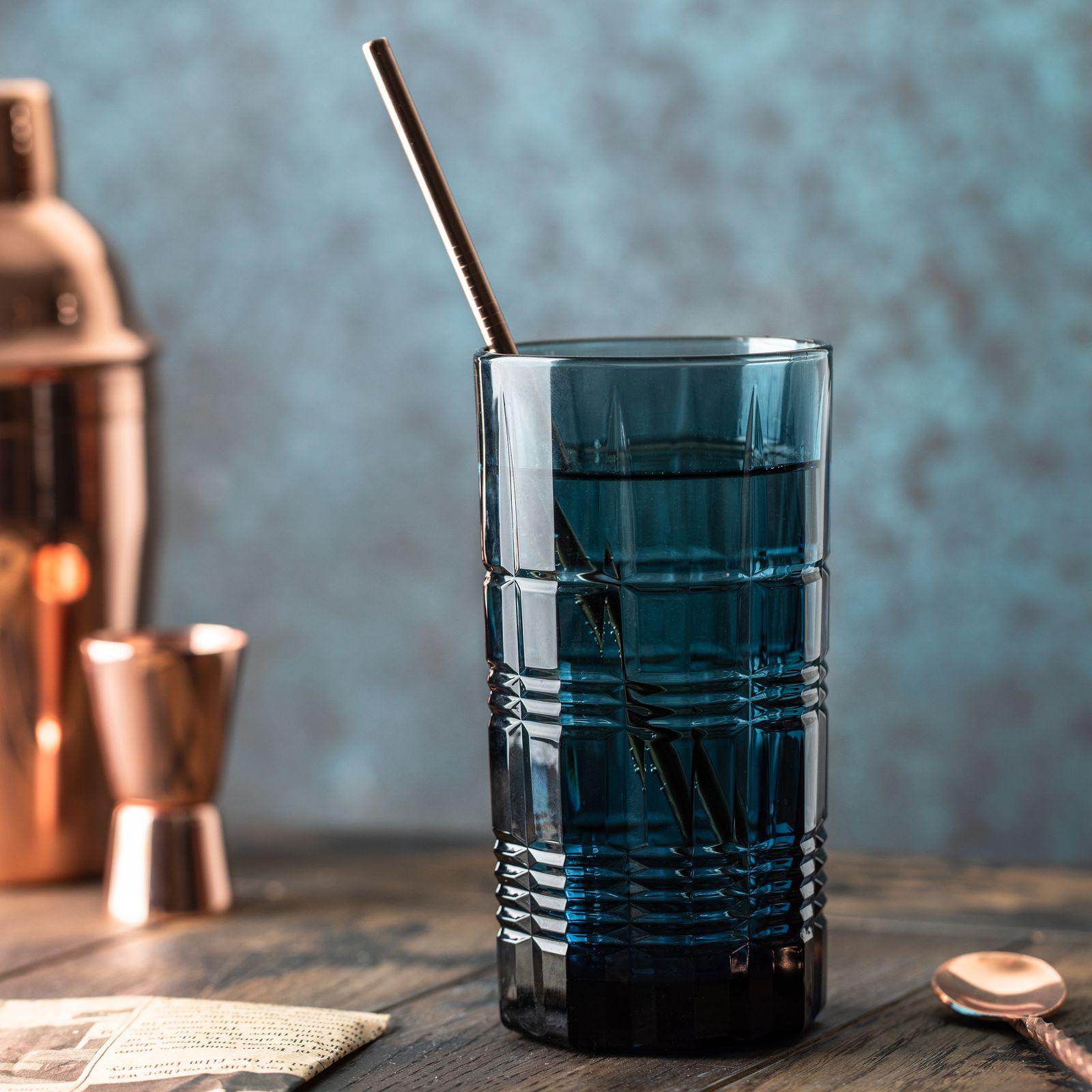 Szklanka wysoka Dallas London Topaz 380 ml LUMINARC