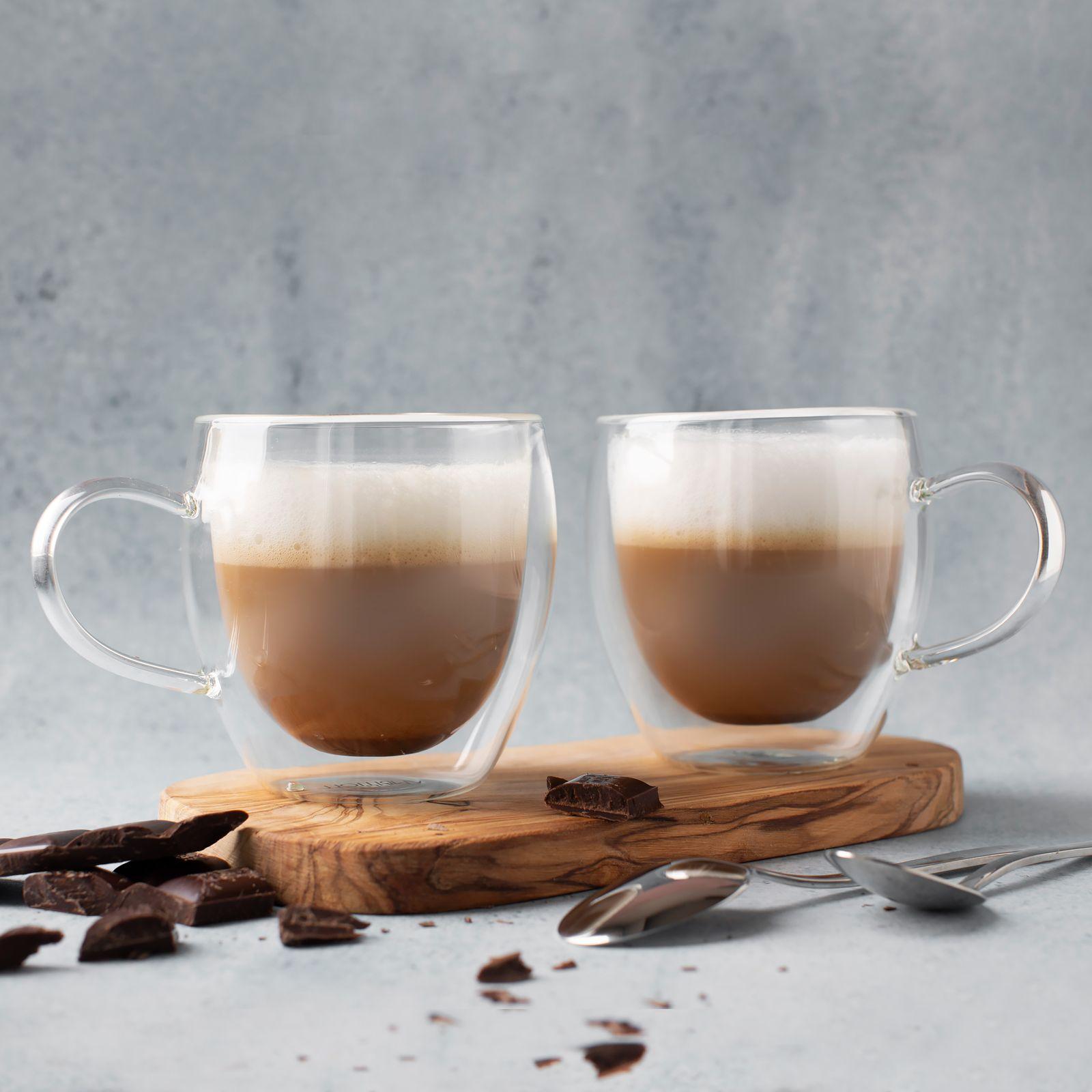Set of 2 thermic glasses / mugs Mia 250 ml AMBITION