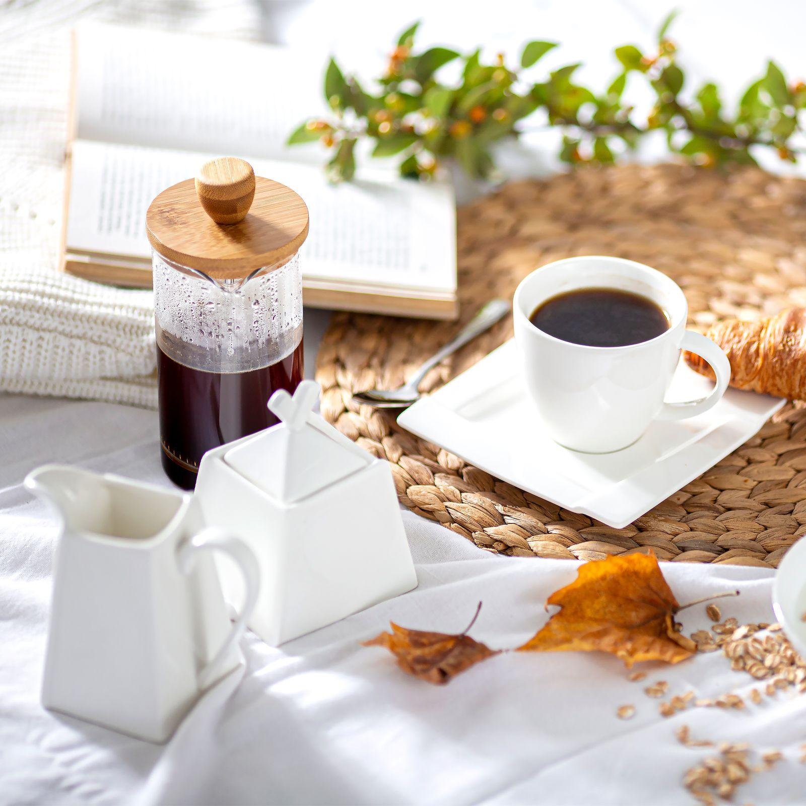 Komplet kawowy Kubiko 170 ml 17-elementowy AMBITION